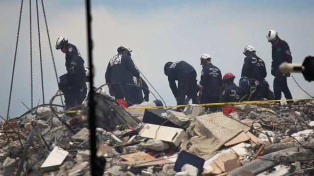 Bangunan Florida Runtuh: Lebih Dari 150 Hilang